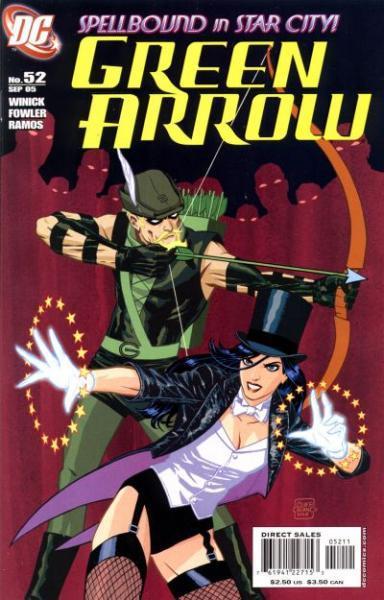 Green Arrow B52 Identity Crisis ... Again