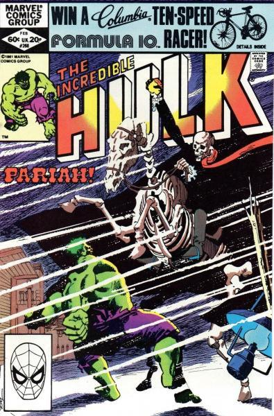 The Incredible Hulk 268 And They Called the Wind Pariah