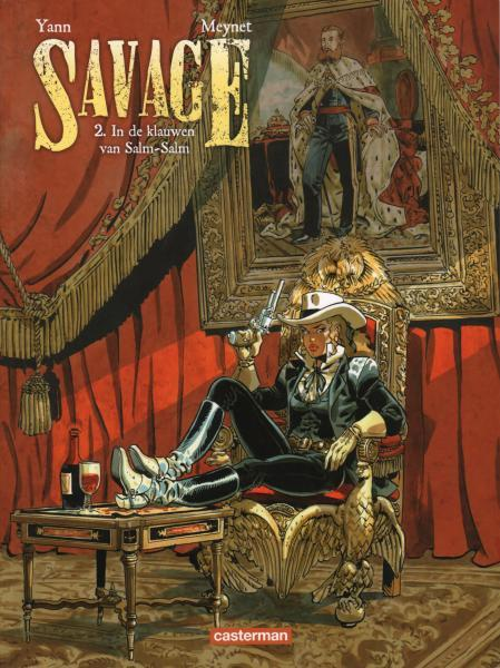 Savage (Meynet) 2 In de klauwen van Salm-Salm