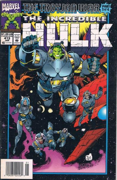 The Incredible Hulk 413 Illegal Aliens