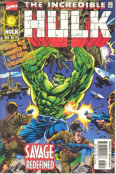 The Incredible Hulk 447 Survivor's Guilt