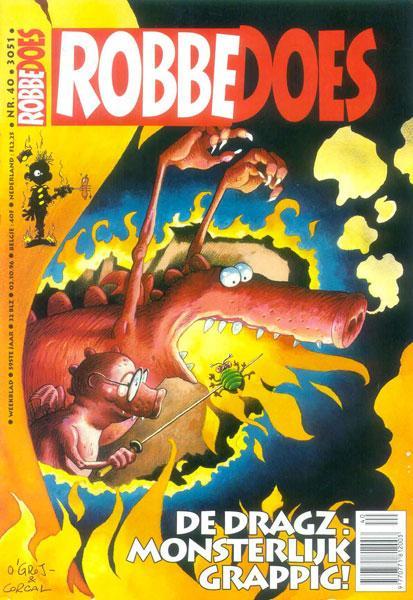 Robbedoes - Weekblad 1996 (jaargang 59) 3051 Nummer 40