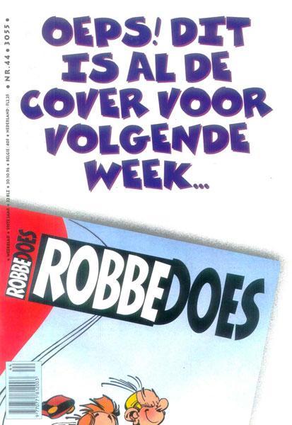 Robbedoes - Weekblad 1996 (jaargang 59) 3055 Nummer 44