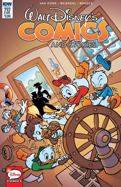 Walt Disney's Comics and Stories (IDW) 737 Issue #737