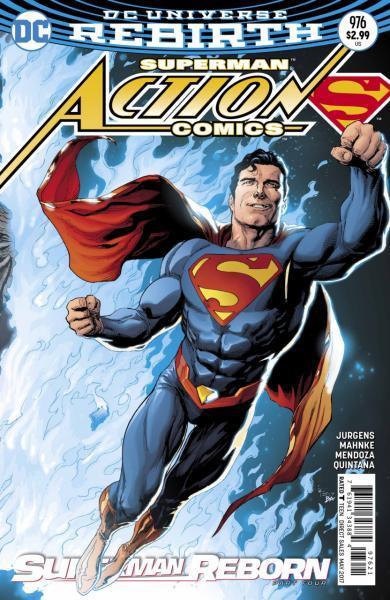 Action Comics B976 Superman: Reborn, Part 4