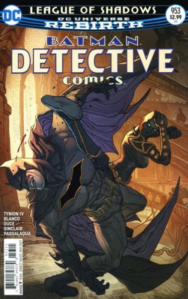 Detective Comics B953 League of Shadows, Part 3: Kiss of the Dragon
