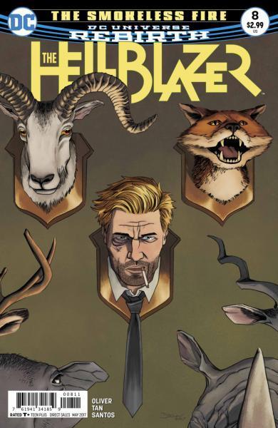 The Hellblazer (DC Comics) 8 The Smokeless Fire, Part 2