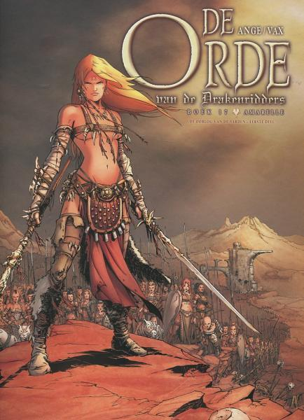 De orde van de drakenridders 17 De oorlog van de Sarden, eerste deel: Amarelle