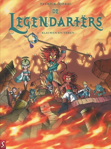 De legendariërs 8 Klauwen en veren