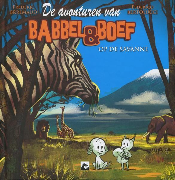 Babbel & Boef 2 Babbel & Boef op de savanne
