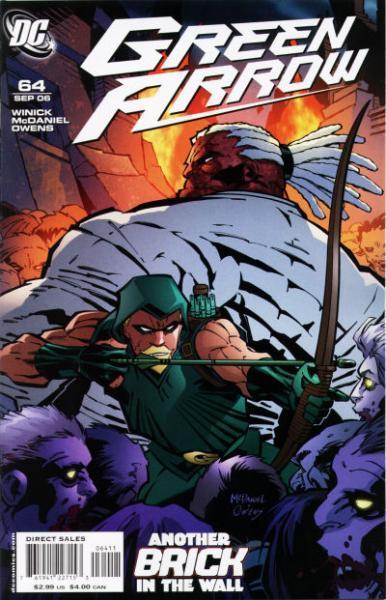 Green Arrow B64 Wild Part Two: Odd Pairings