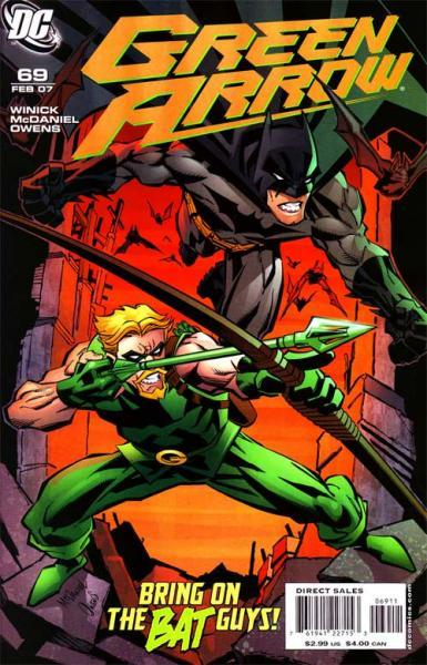 Green Arrow B69 Seeing Red, Part 1: Out of Town Guests