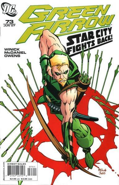Green Arrow B73 Jericho, Part One: The Long Fall Only Hurts When It's Over
