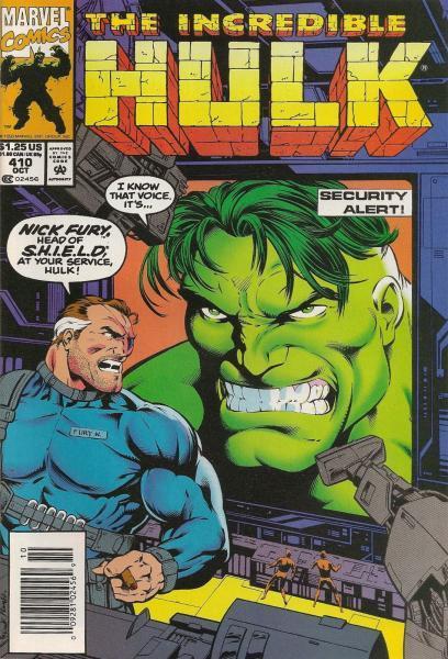 The Incredible Hulk 410 Jailhouse Rock