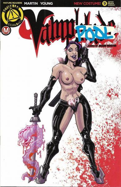 Vampblade 9 Issue #9