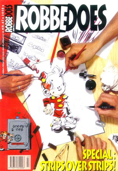 Robbedoes - Weekblad 1996 (jaargang 59) 3058 Nummer 47