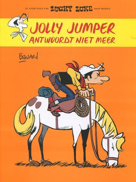 Lucky Luke door... 2 Jolly Jumper antwoordt niet meer