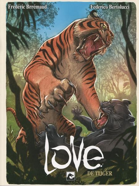 Love (Dark Dragon Books) 2 De tijger