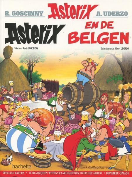 Asterix A24 Asterix en de Belgen