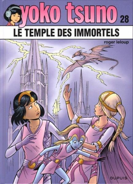 Yoko Tsuno 28 Le temple des immortels