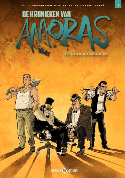 De kronieken van Amoras 1 De zaak Krimson #1