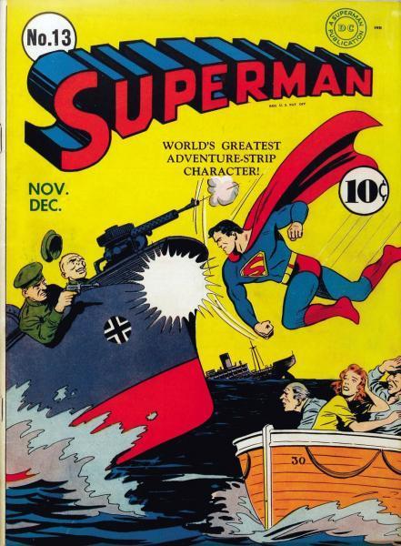 superman temp - te verplaatsen naar hoofdreeks 13 Issue #13
