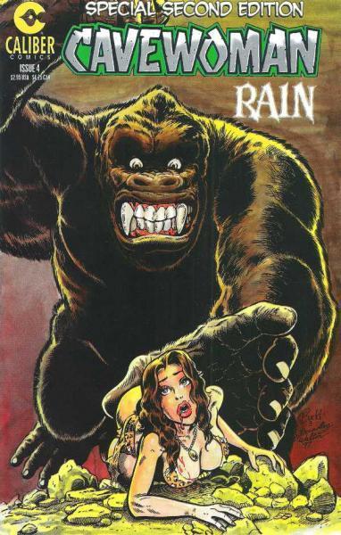 Cavewoman: Rain 4 Issue #4