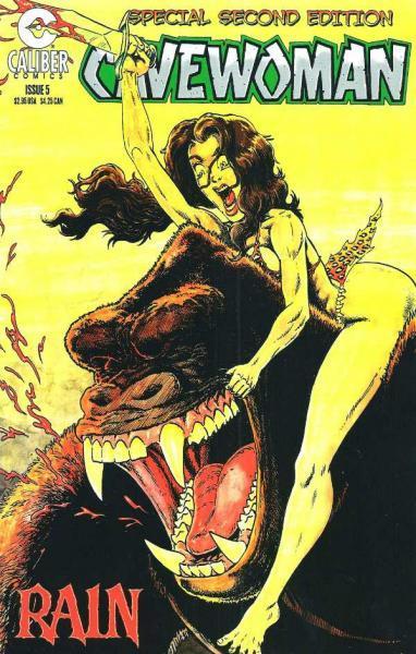 Cavewoman: Rain 5 Issue #5