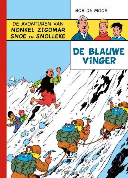 Nonkel Zigomar, Snoe en Snolleke A3 De blauwe vinger
