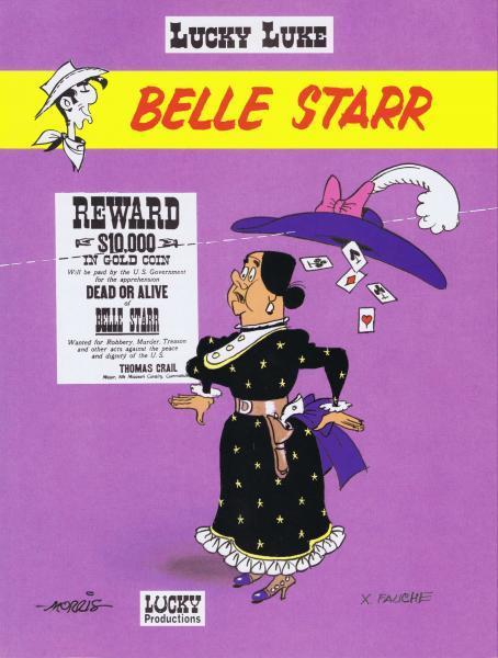 Lucky Luke (Dargaud/Lucky Comics) 35 Belle Starr