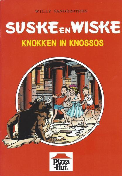 Suske en Wiske (Reclame Pizza Hut) 1 Knokken in Knossos