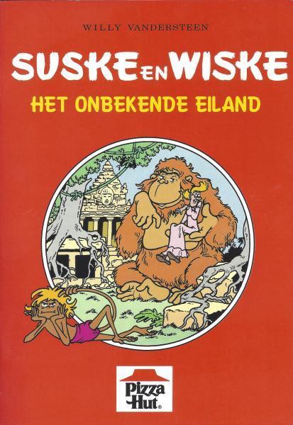 Suske en Wiske (reclame/kortverhaal) 17 Het onbekende eiland