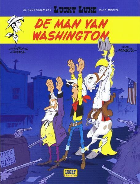 Lucky Luke (Lucky Comics) 3 De man van Washington