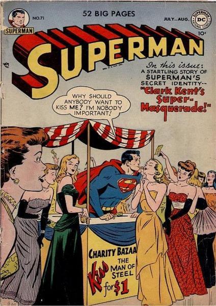 superman temp - te verplaatsen naar hoofdreeks 71 Issue #71