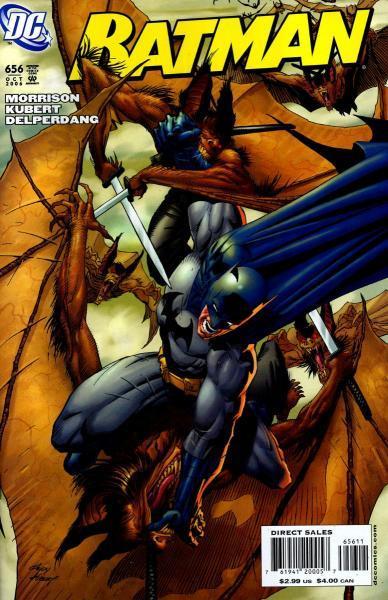 Batman 656 Batman & Son, Part 2: Man-Bats of London