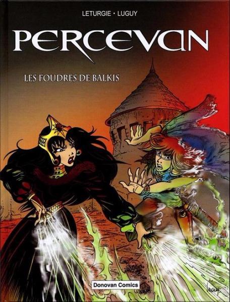 Percevan (Franse uitgaven) S1 Les foudres de Balkis