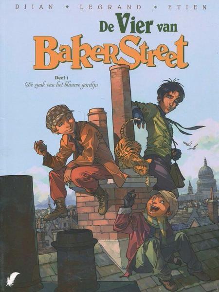 De vier van Baker Street 1 De zaak van het blauwe gordijn