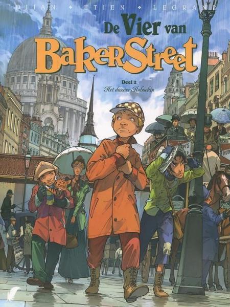 De vier van Baker Street 2 Het dossier Raboekin