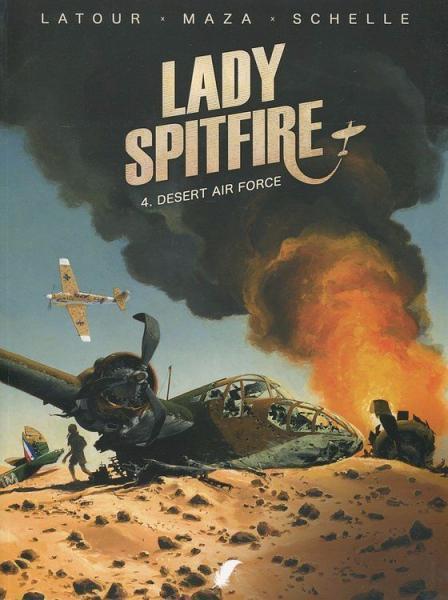 Lady Spitfire 4 Desert air force