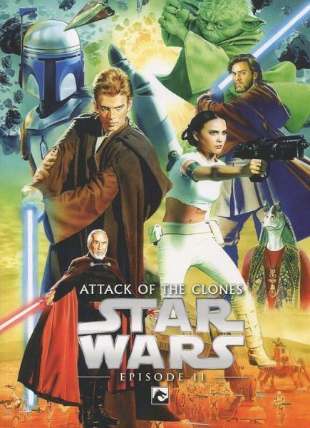 Star Wars Remastered Filmboek 2 Attack of the Clones
