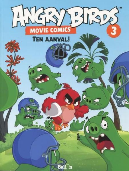 Angry Birds Movie Comics 3 Ten aanval!