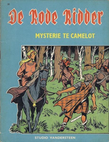 De Rode Ridder 30 Mysterie te Camelot