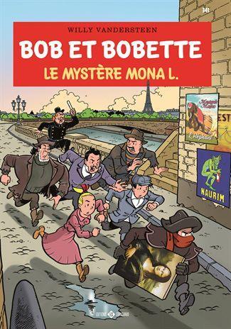 Suske en Wiske 341 Le mystère Mona L