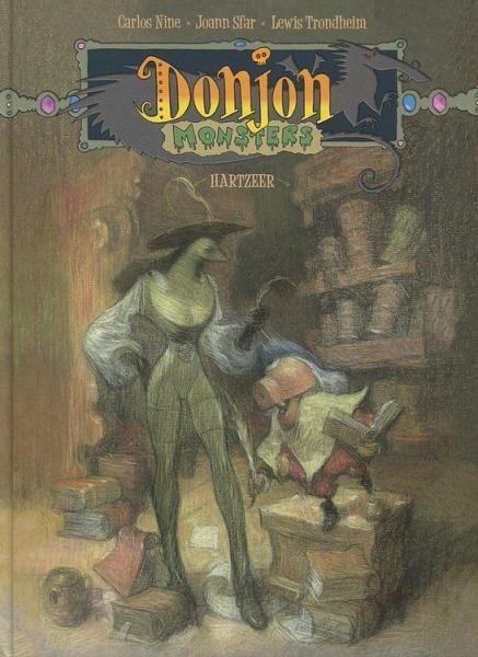 Donjon monsters 8 Hartzeer