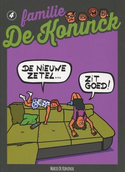 Familie De Koninck 4 De nieuwe zetel ... zit goed!