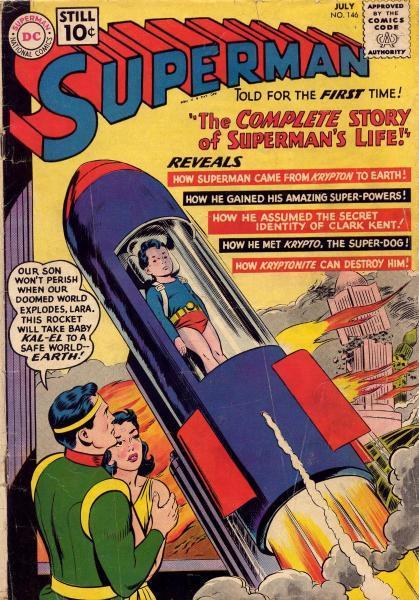 superman temp - te verplaatsen naar hoofdreeks 146 Issue #146