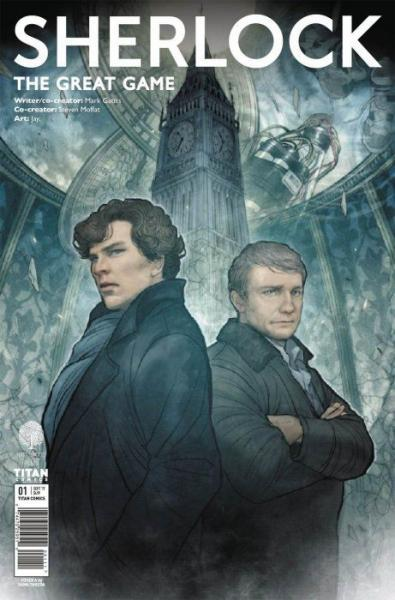 Sherlock: The Great Game 1 Issue #1