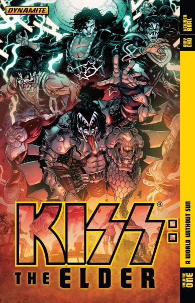 Kiss (Dynamite Entertainment) INT 1 Kiss: The Elder, Volume 1: A World Without Sun