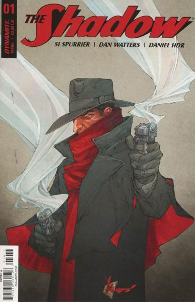 The Shadow (Dynamite Entertainment) B1 Issue #1