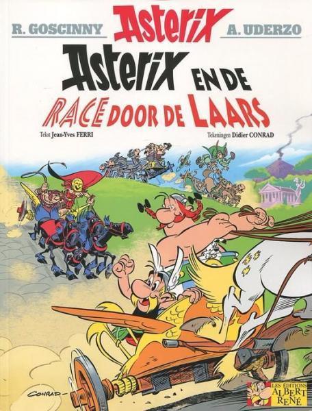 Asterix 37 De race door de laars